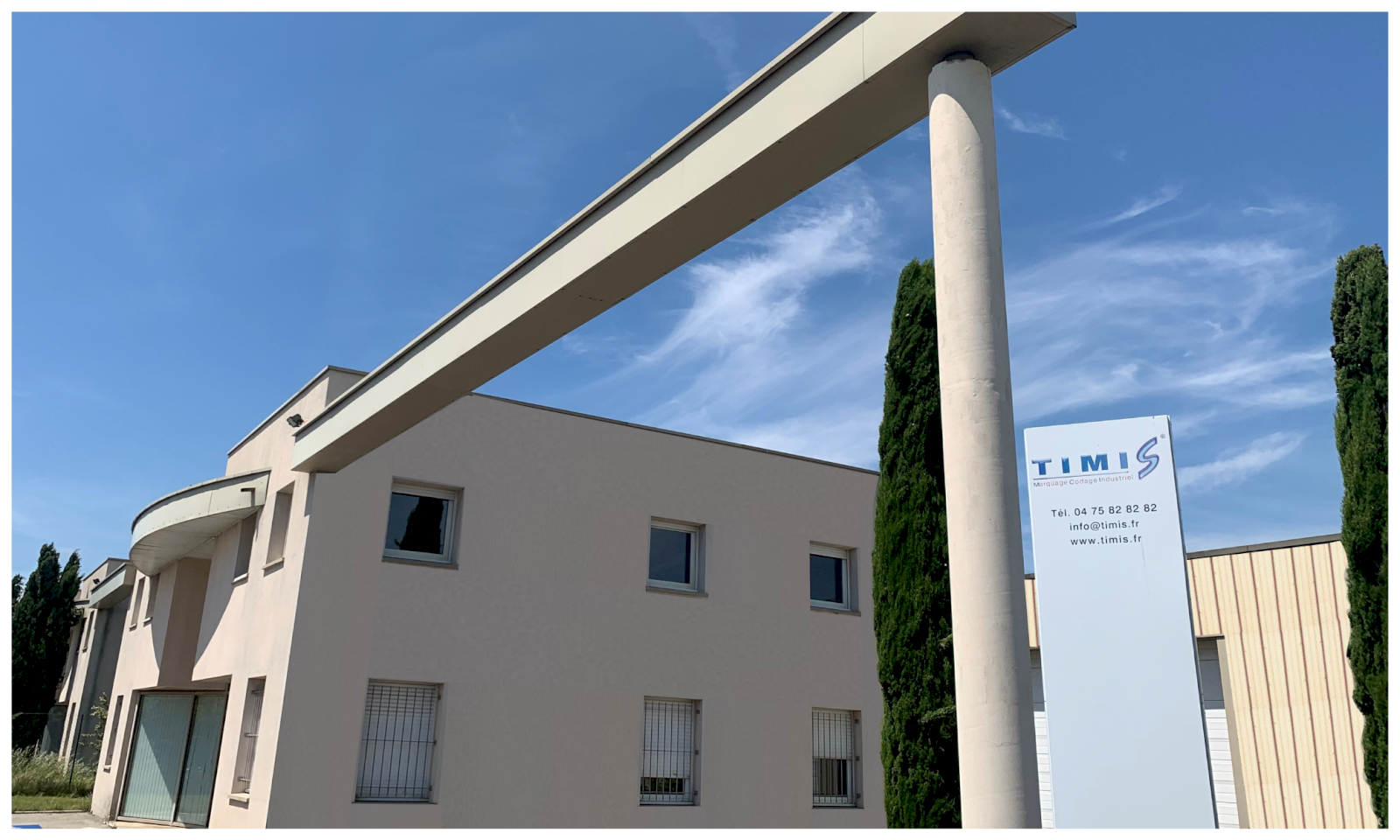 Présentation de TIMIS, société en marquage industriel